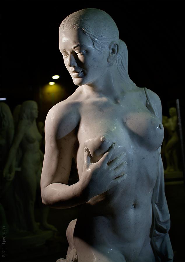 мастерская скульптора