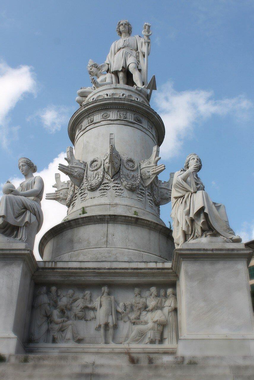 Monumento a Cristóvão Colombo.