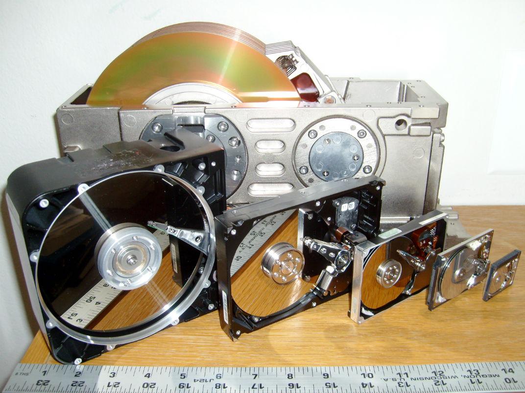 Эволюция HDD