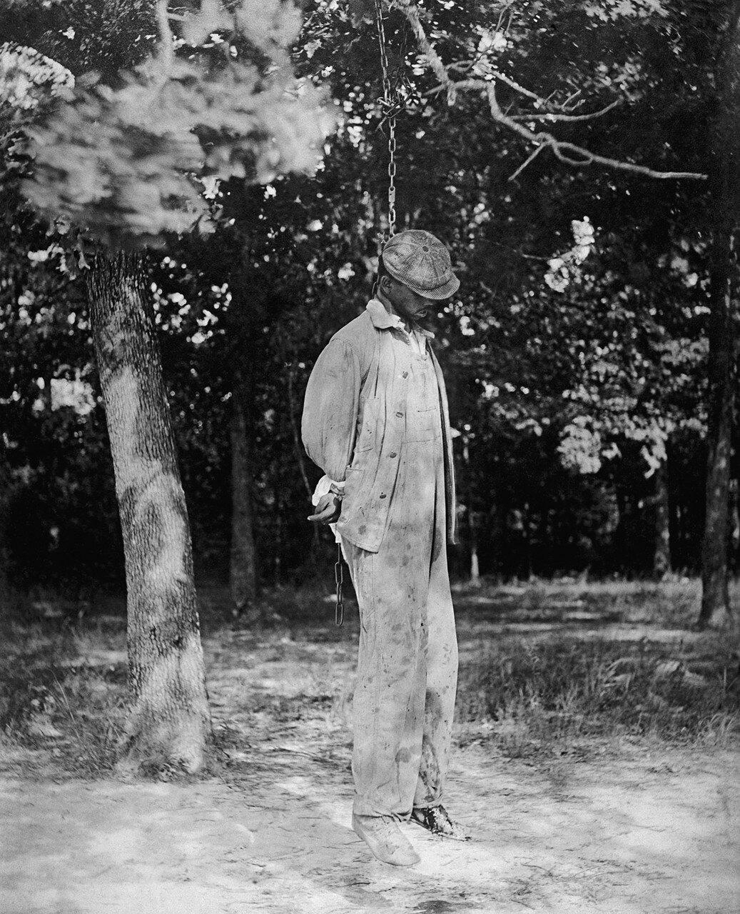 1925. Жертва линчевания