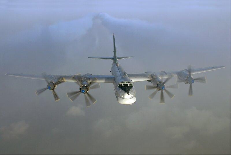 Бомбардировщик ТУ - 95