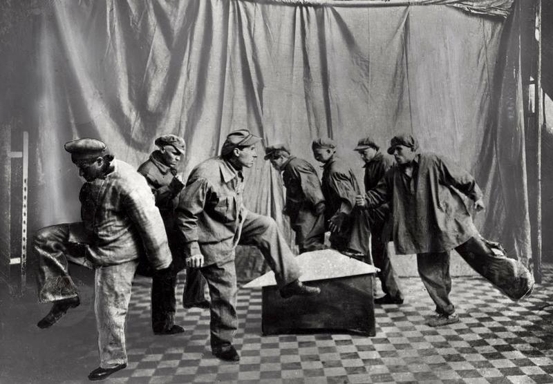 Dancing workers, USSR, 1923.jpg