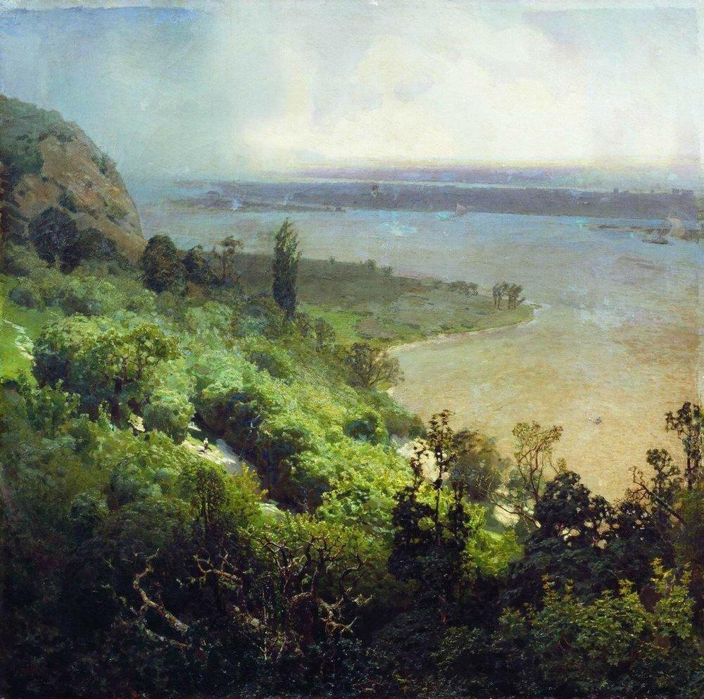 Днепр перед бурей. 1888.jpg
