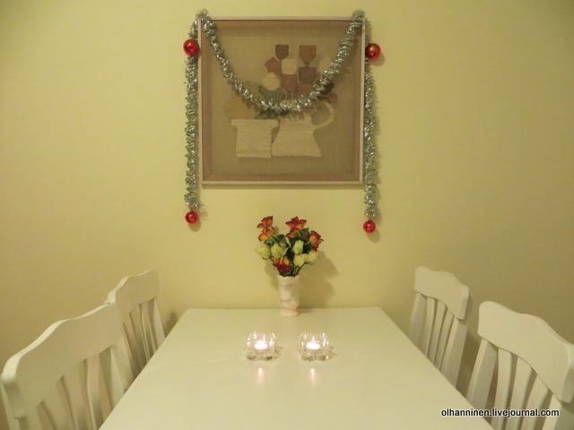 05 цветы и новогодние украшения