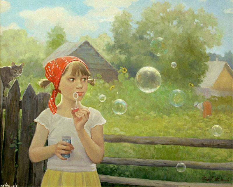 Татьяна Дерий Мыльные пузыри