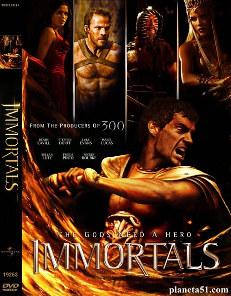 Война Богов: Бессмертные / Immortals (2011/BDRip/3D) + AVC