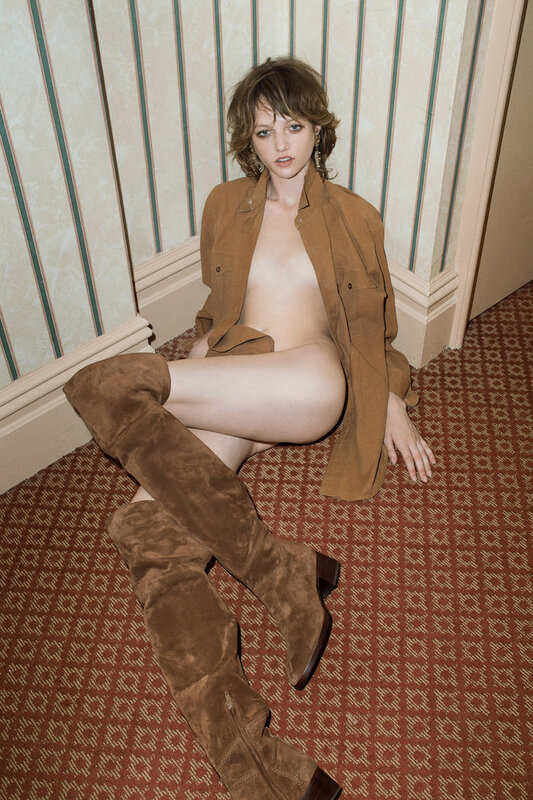 Lindsey Byard photographed by Mario Zanaria for Stalker by S Magazin