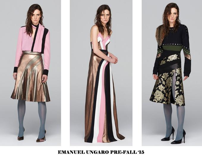 EMANUEL UNGARO PRE-FALL 2015 5