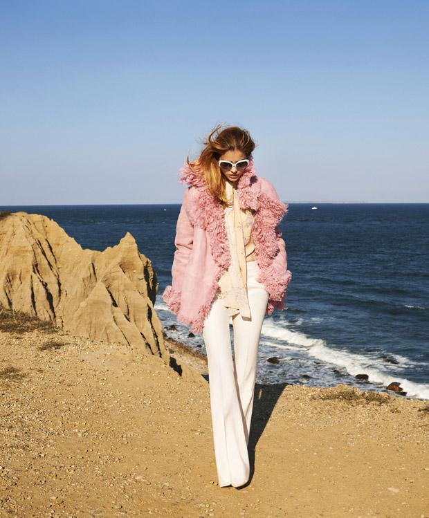 Барбара Палвин (Barbara Palvin) в журнале Harper's Bazaar US