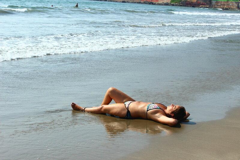 Пляж Кандолима. Наслаждение