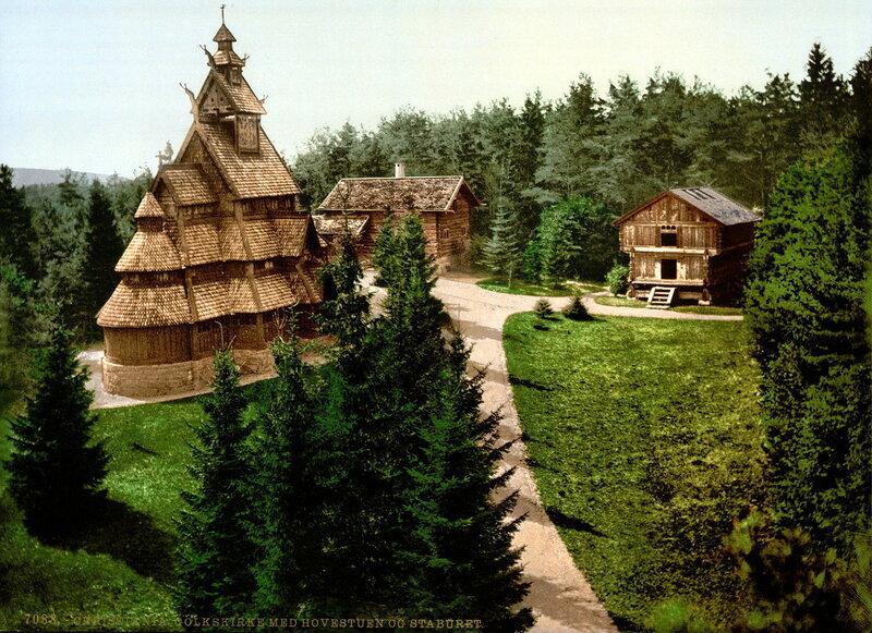 6. Каркасная церковь в Гуле (XIII век), губерния Бускеруд