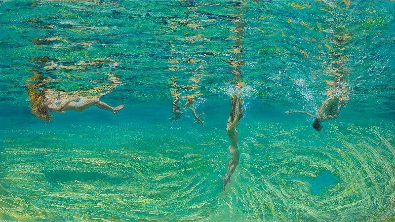 Греческая художница Maria Filopoulou