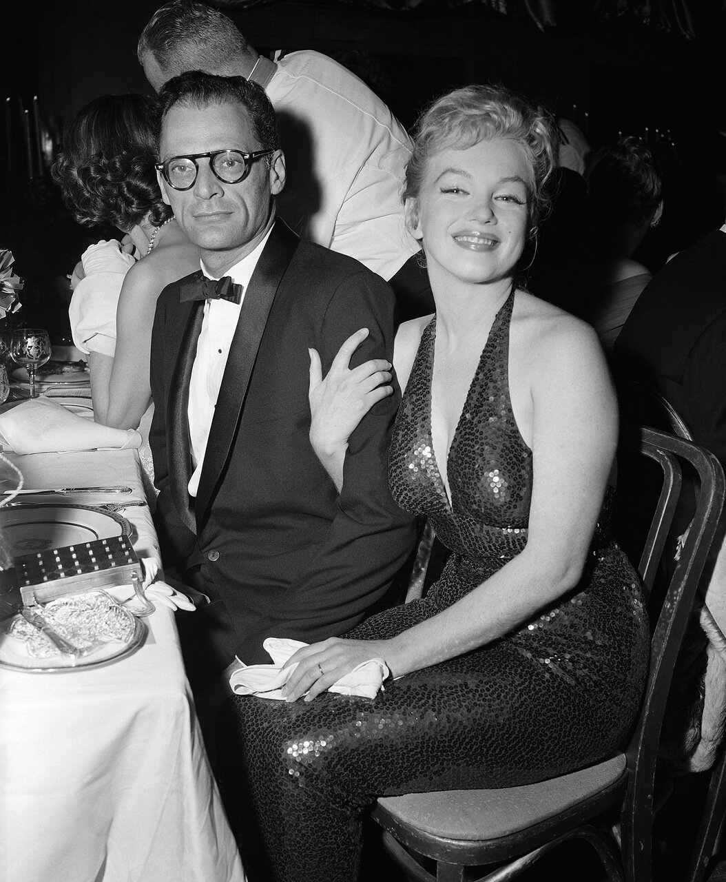 Marilyn Monroe and Husband Arthur Miller