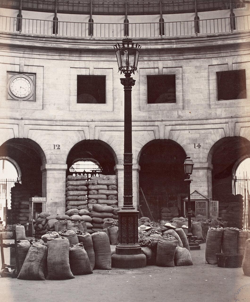 Хлебный рынок. 1868