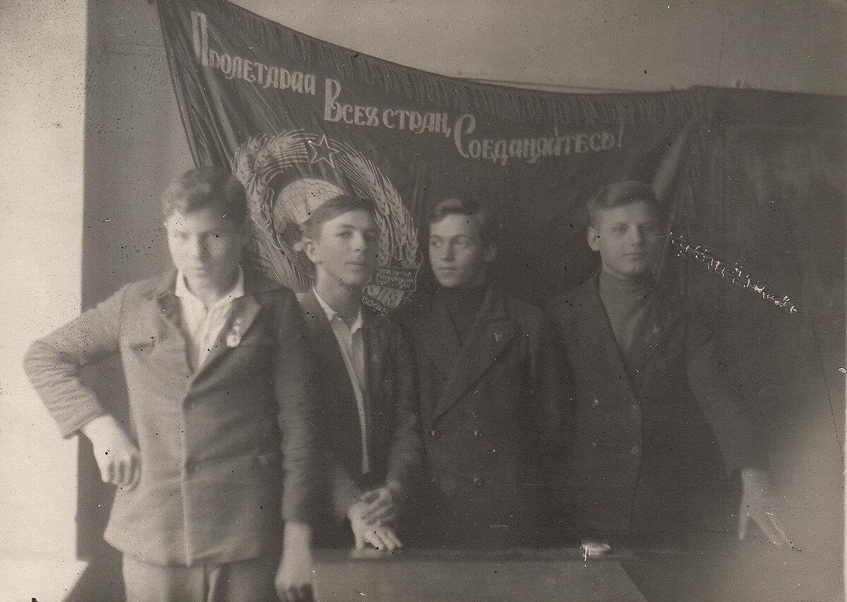 1938. Ленинград. 8 класс. 7 декабря