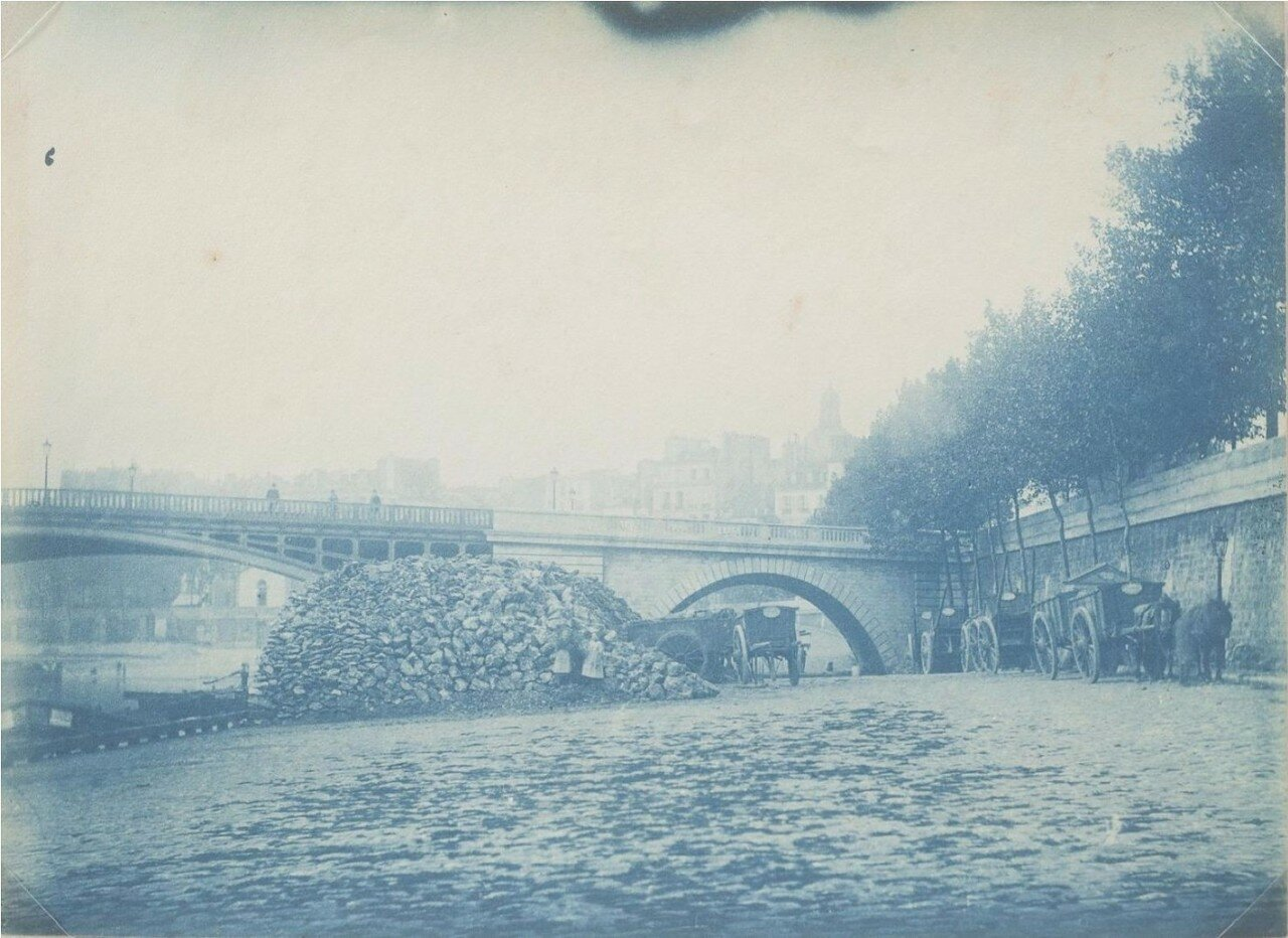 1865. Берега Сены