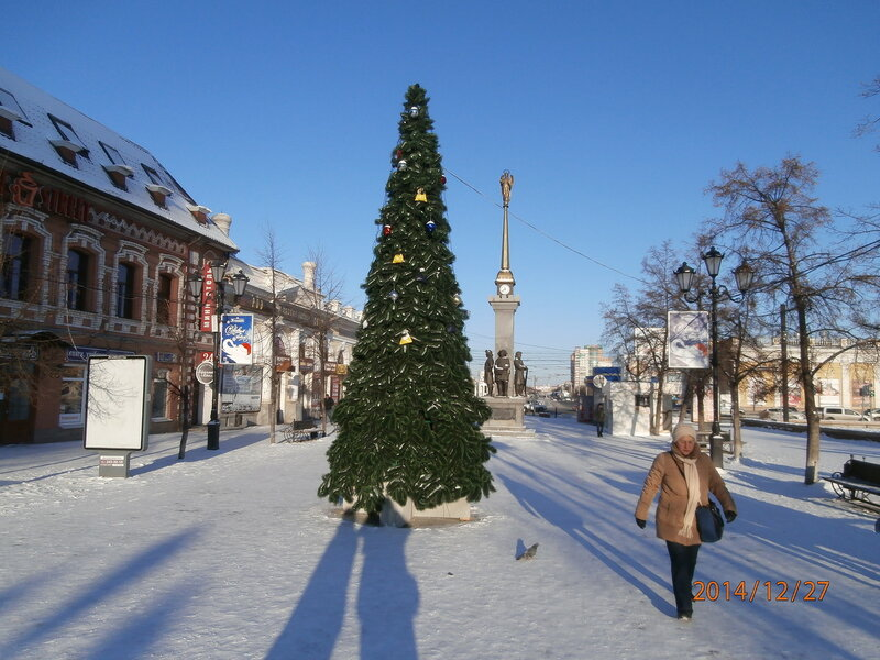 Ёлка на ул. Кирова