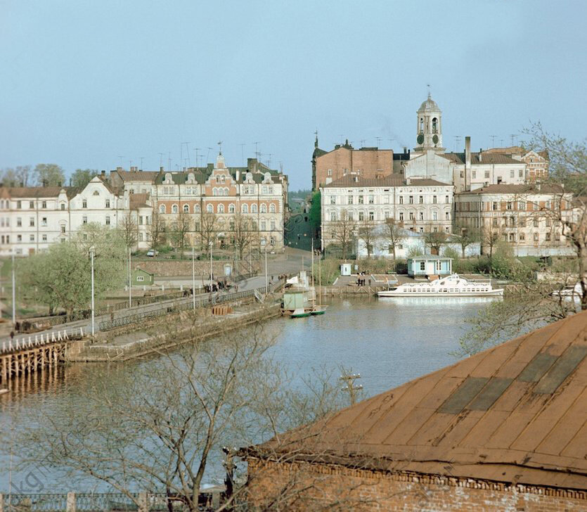 1968 A panorama of Vyborg.jpg