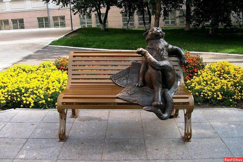 памятник йошкин кот йошкар-ола