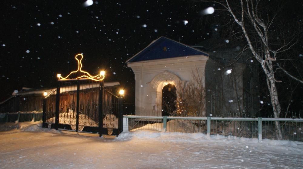 Свято-Казанский храм вКусе зимой (04.02.2015)