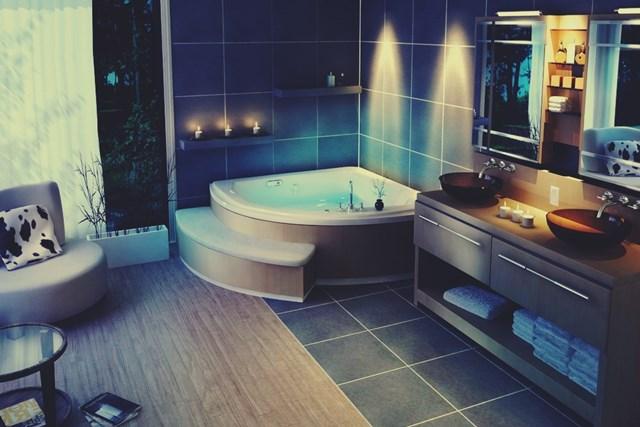 Дизайн и интерьер ванных комнат