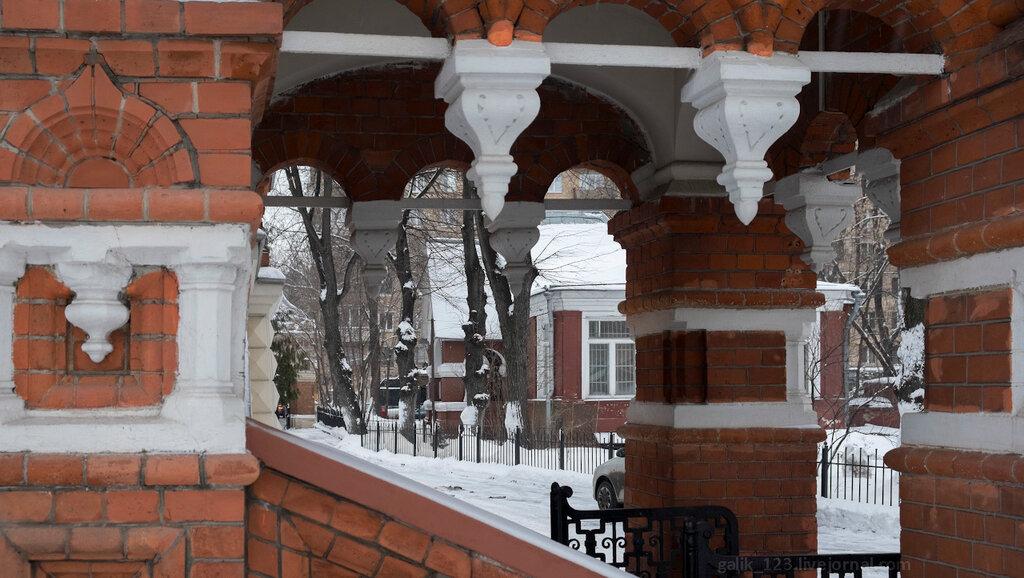 Дом П.И. Щукина на Малой Грузинской