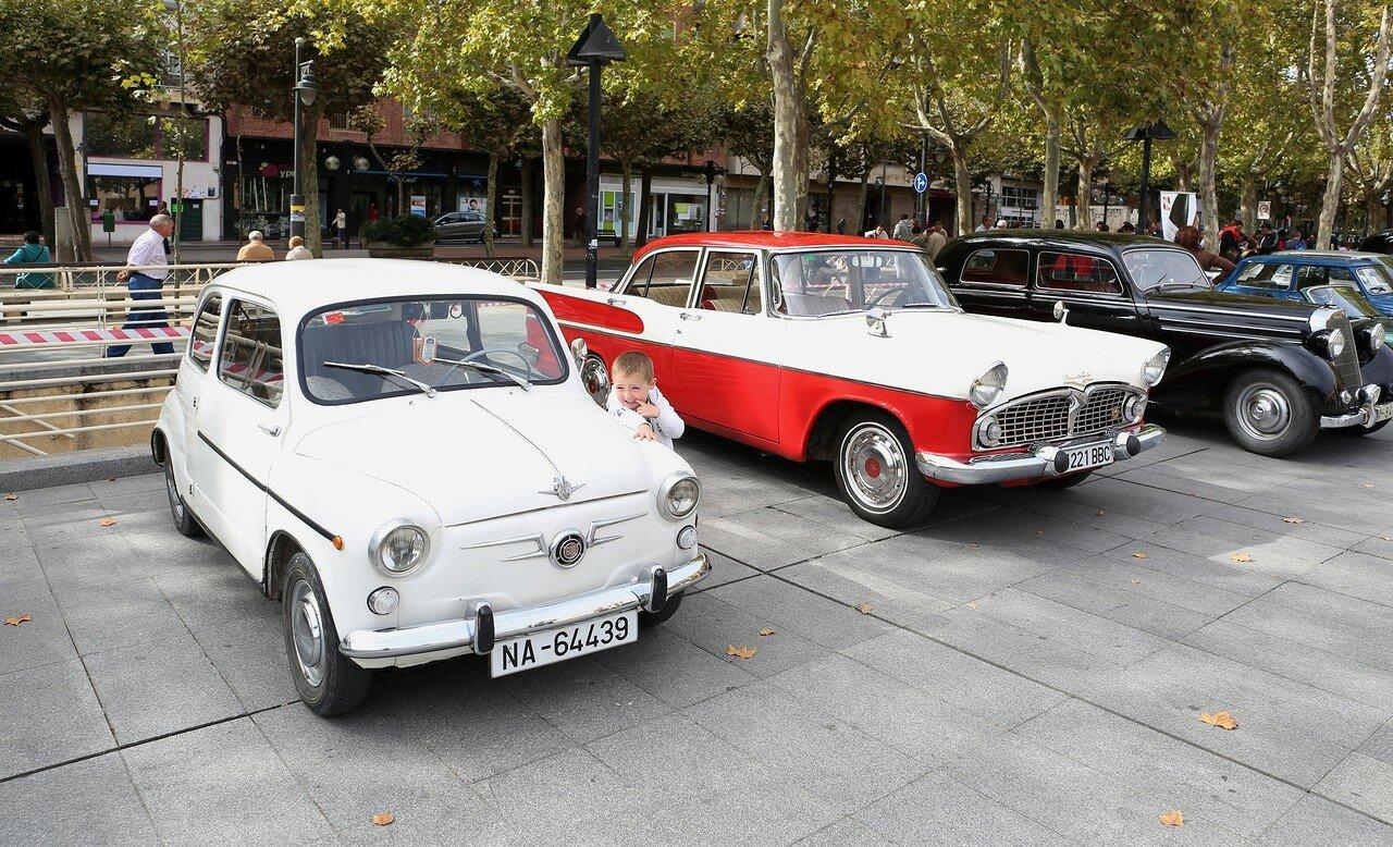 Парад ретроавтомобилей в Логроньо.