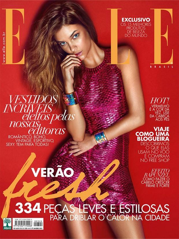 Барбара Палвин (Barbara Palvin) в журнале Elle Brazil