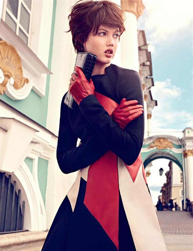 Линдси Виксон в журнале Vogue Russia