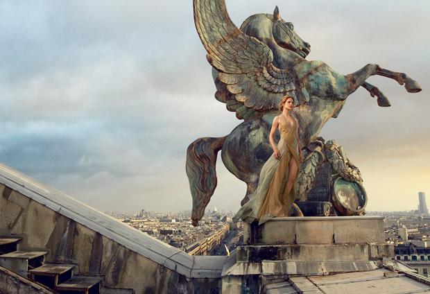 Наталья Водянова (Natalia Vodianova) в журнале American Vogue (5 фото)