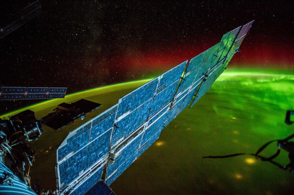 8. Вид на Италию с борта МКС, 26 июля 2014 года.