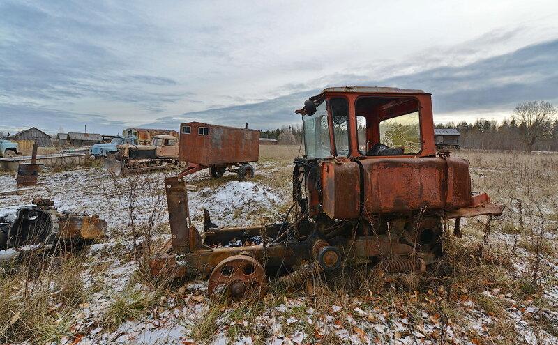 россии заброшеные трактора россии фото приготовить