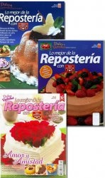 Журнал Lo mejor de la reposteria No. 3, 7, 14