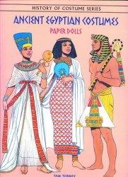 Книга Ancient Egyptian Costumes Paper Dolls (History of Costume)