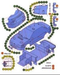 Журнал Раллийный Автомобиль SUBARU IMPREZA WRX