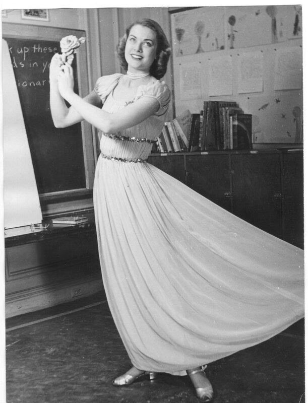 """Грейс Келли, пробное фото для журнала """"Иллюстрации"""", Нью-Йорк 1948"""