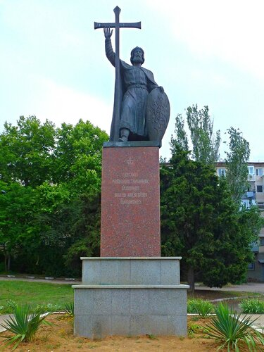 Памятник Равноапостольному князю Владимиру в Севастополе