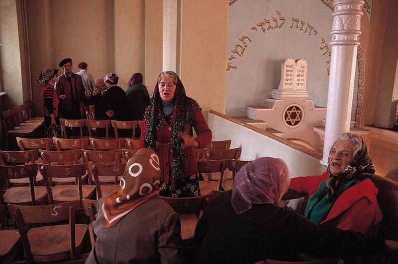 Одесса, синагога. 1988 год.