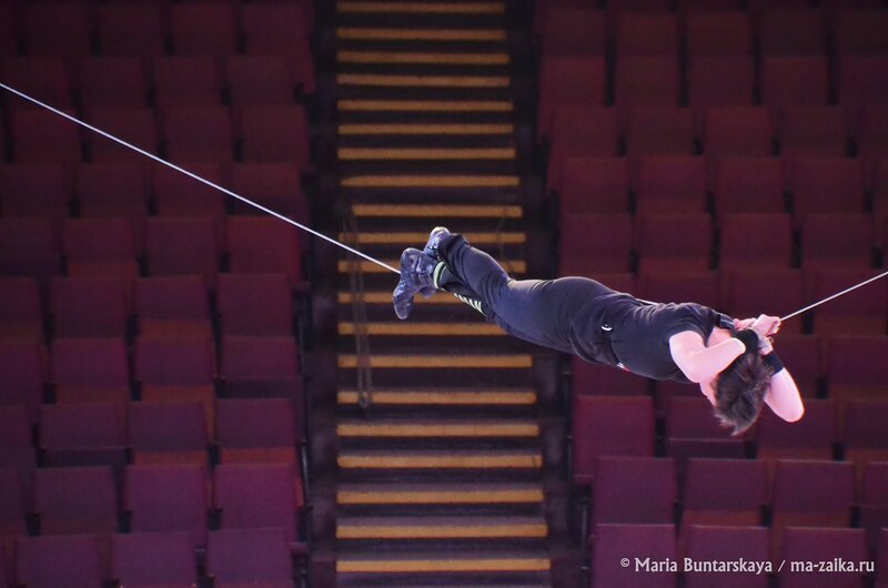 Хождение по канату, Саратов, цирк, 06 марта 2015 года