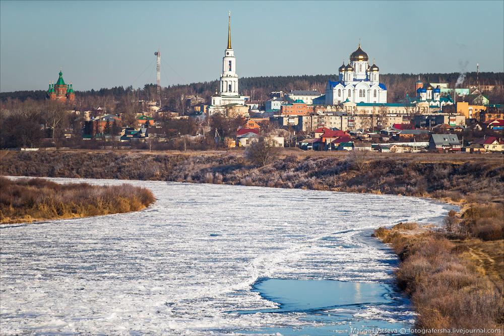 трасса М4 ДОН фото Задонск монастырь храм церковь