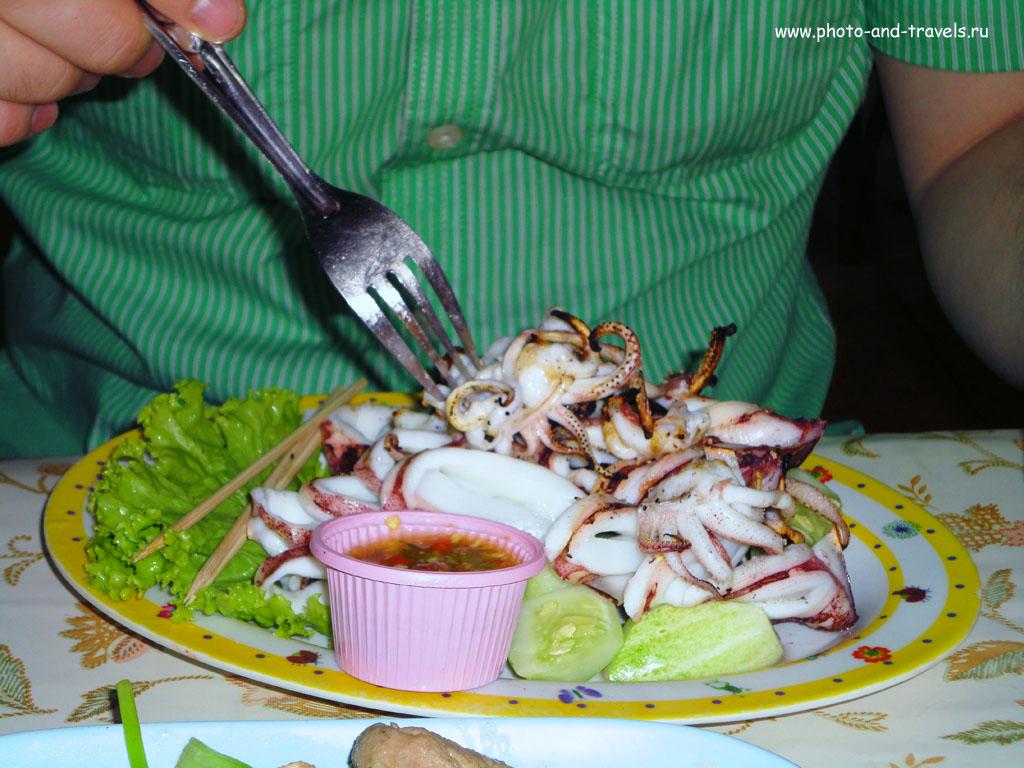 Еда в Тайланде очень разнообразна. Особенно прекрасна морская пища. В Паттайе можно найти вкусняшки на любой вкус.