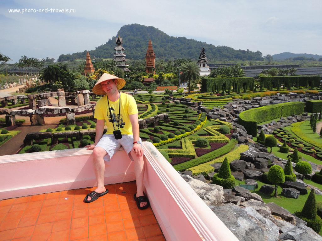 9. Если вы приедете в ботанический сад Нонг Нуч самостоятельно, а не с экскурсией, у вас будет время насладиться видами парка. Чем заняться в Таиланде во время отдыха в Паттайе.