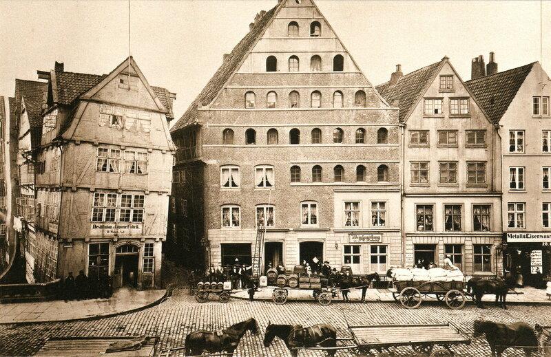 Häuser an der Brauerstraße