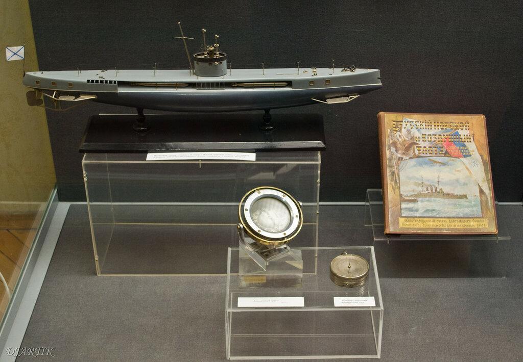 Подводная лодка Окунь