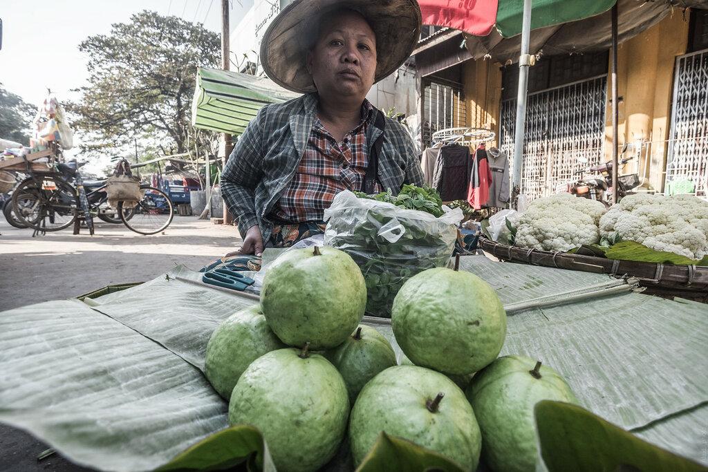 Бирма. Рынок вМандалае– часть2