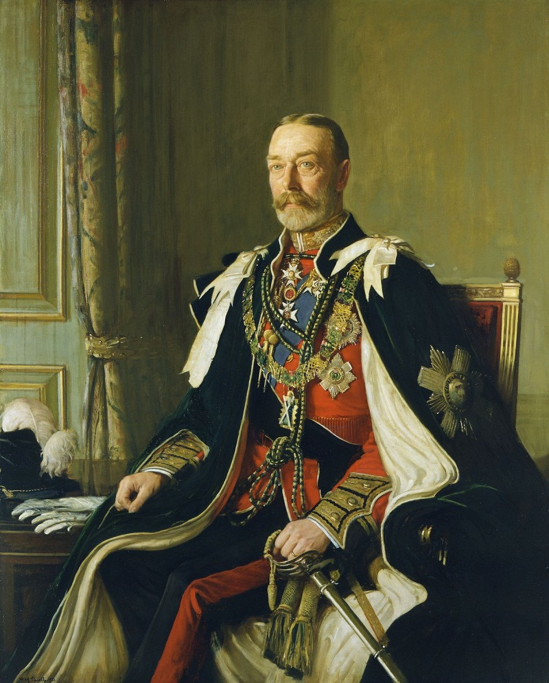 Frederick W Elwell (1870-1958)King George V (1865-1936)  Signed and dated 1932
