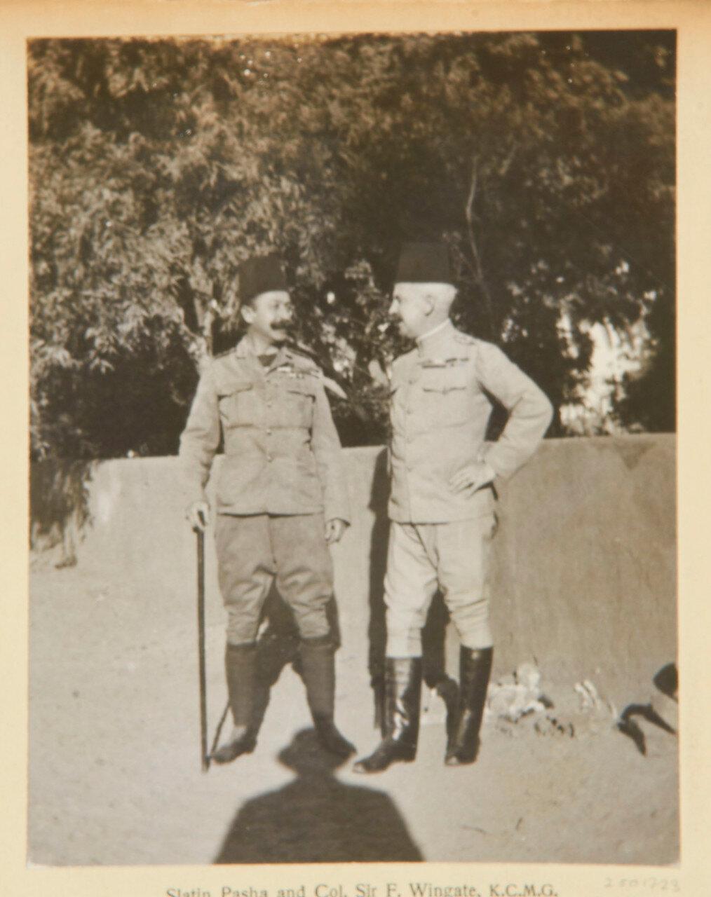 Барон Рудольф Карл фон Слатин (Слатин Паша) (1857-1932) и сэр Реджинальд Уингейт (1861-1953)