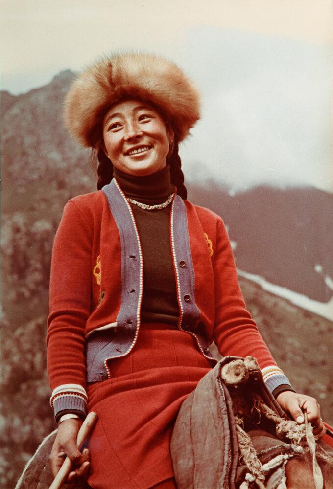 1970. Киргизка