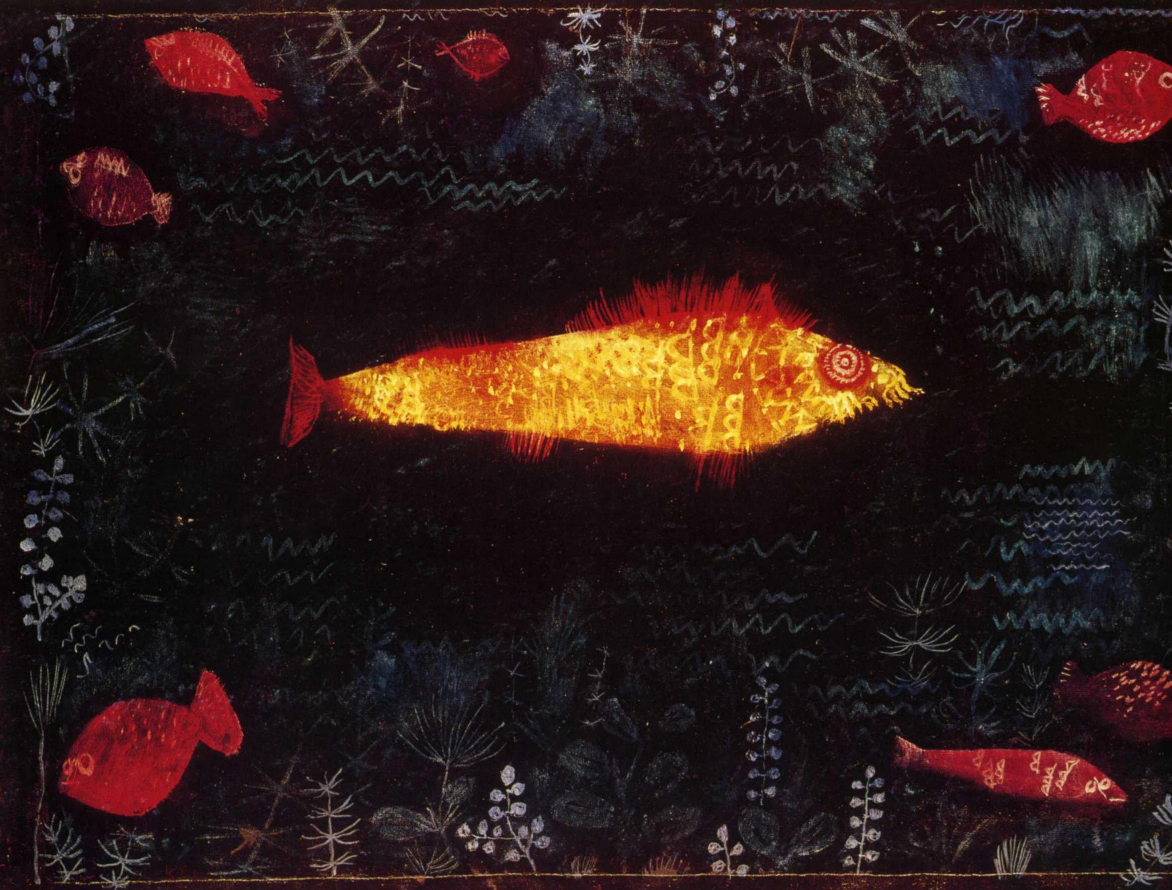 Пауль Клее. Золотая рыбка. 1925