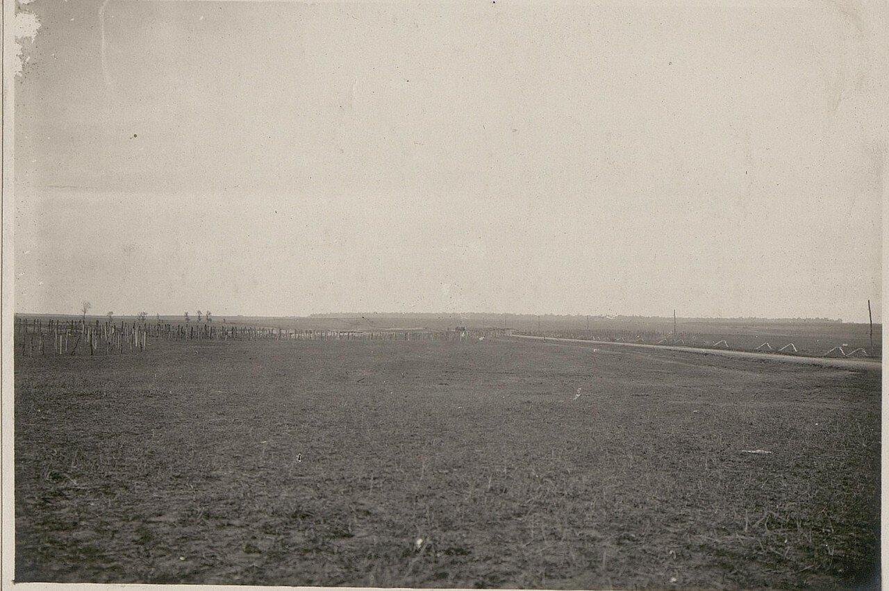 Блок пост на дороге между Луцком и Дубно